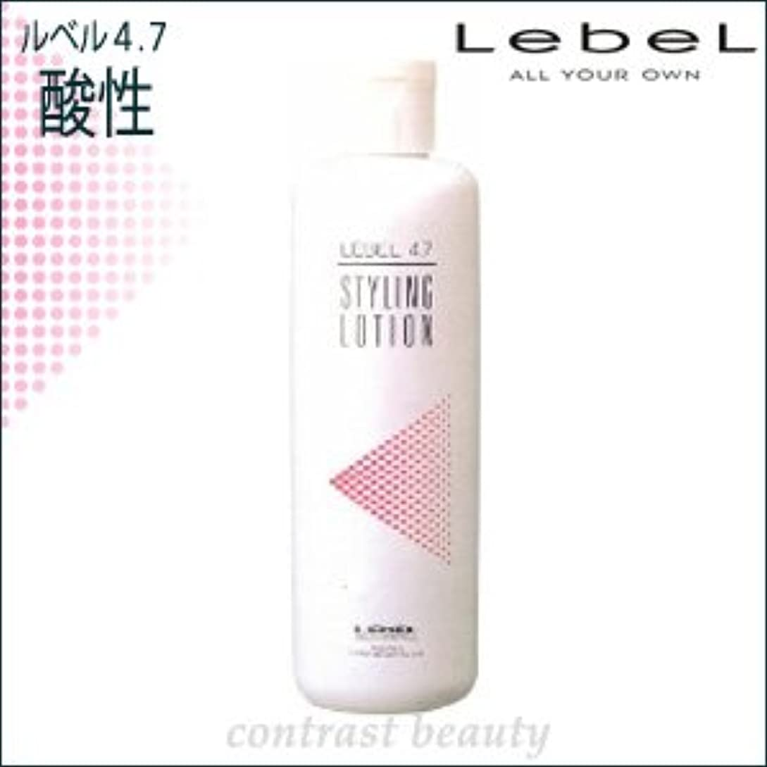 アジア人しっとり信じる【X2個セット】 ルベルコスメティックス/LebeL 4.7酸性 スタイリングローション 400ml