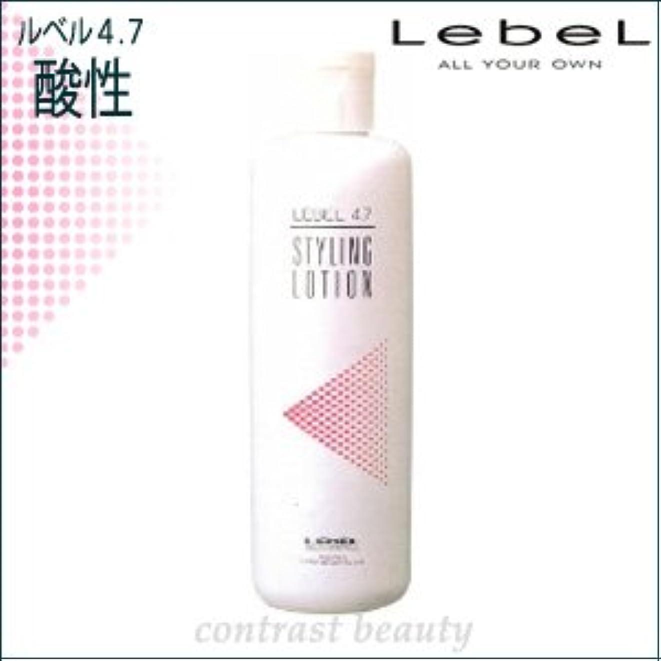 不名誉マイク三角形【X3個セット】 ルベルコスメティックス/LebeL 4.7酸性 スタイリングローション 400ml