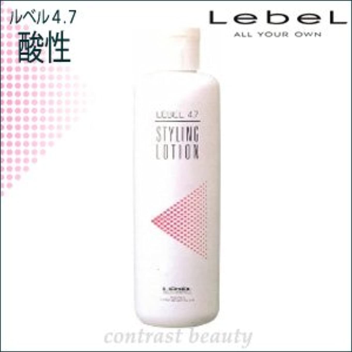 縫うバトルごみ【X3個セット】 ルベルコスメティックス/LebeL 4.7酸性 スタイリングローション 400ml