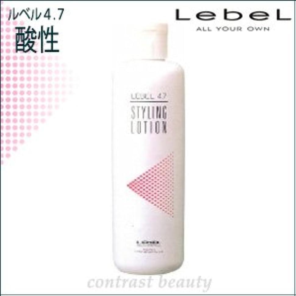 罰羽振り返る【X2個セット】 ルベルコスメティックス/LebeL 4.7酸性 スタイリングローション 400ml