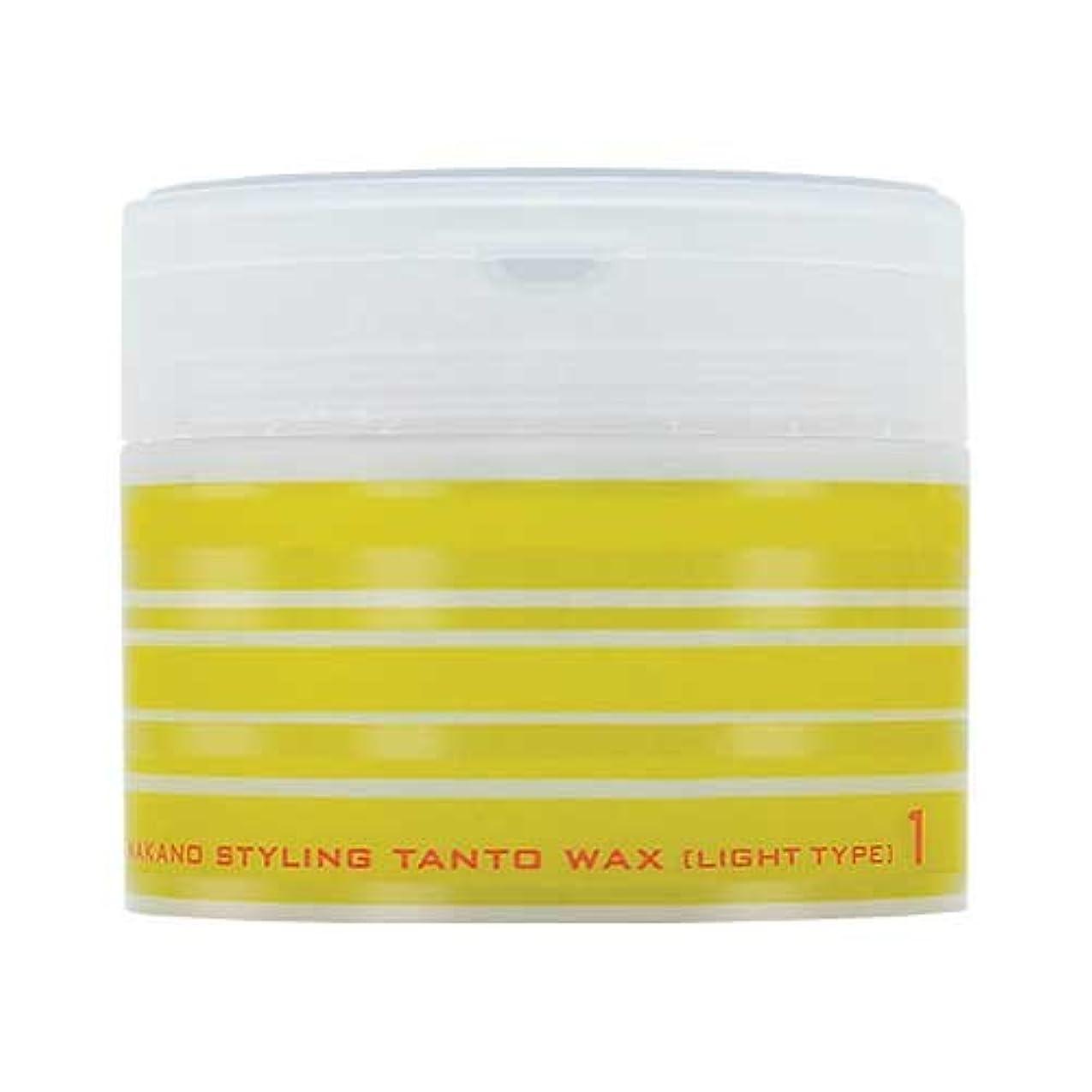 コンペ分類する減らすナカノ スタイリング タントN ワックス 1 ライトタイプ 90g 中野製薬 NAKANO