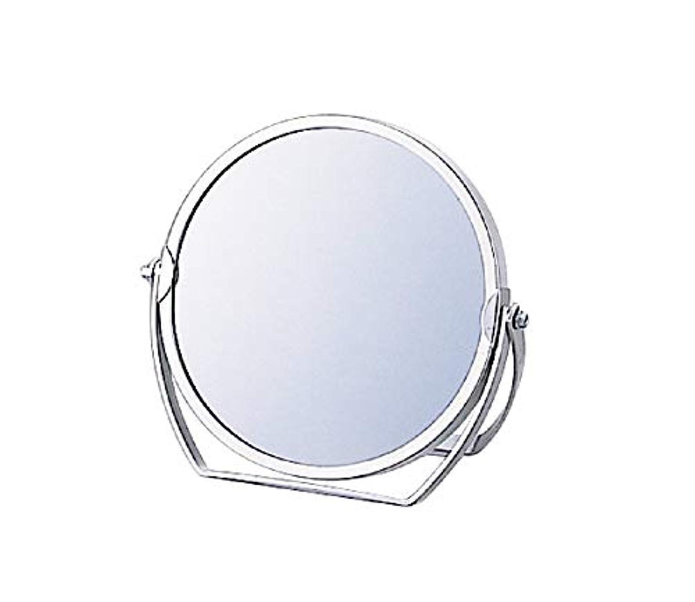 なめる真実にレビューヤマムラ 3倍拡大鏡付 スタンドミラー 丸(径140mm) ST-031