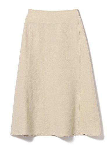 (デミルクスビームス) Demi-Luxe BEAMS スカート 洗える リネン フィット&フレアスカート レディース