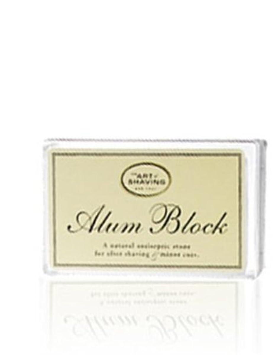 貼り直すコーンウォール結晶The Art Of Shaving Alum Block Unscented (並行輸入品) [並行輸入品]