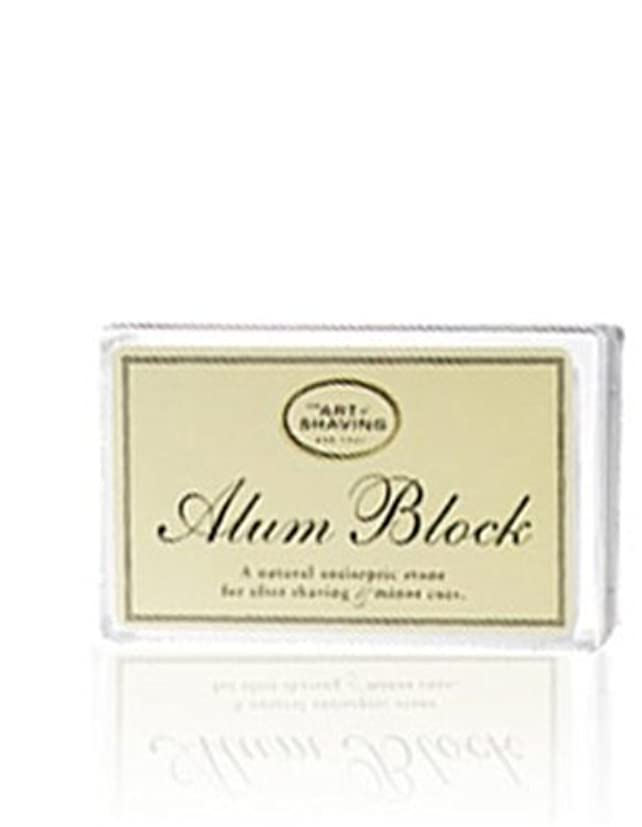 恐れるマトリックスティッシュThe Art Of Shaving Alum Block Unscented (並行輸入品) [並行輸入品]