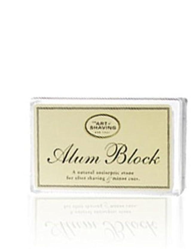 会うも習字The Art Of Shaving Alum Block Unscented (並行輸入品) [並行輸入品]