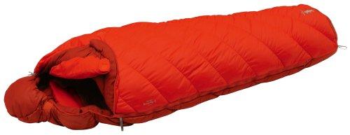 モンベル(mont-bell) 寝袋 バロウバッグ #1 オレンジ 右ジップ [最低使用温度-9度] 1121271 OG R/ZIP