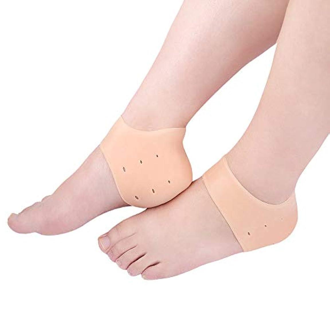 死リーンリスキーな自然なひびの入ったヒールトリートメント-ジェルソックス、ヒールペインリリーフ-足底筋膜炎、アキレス腱炎、カルス、骨棘を治療します。