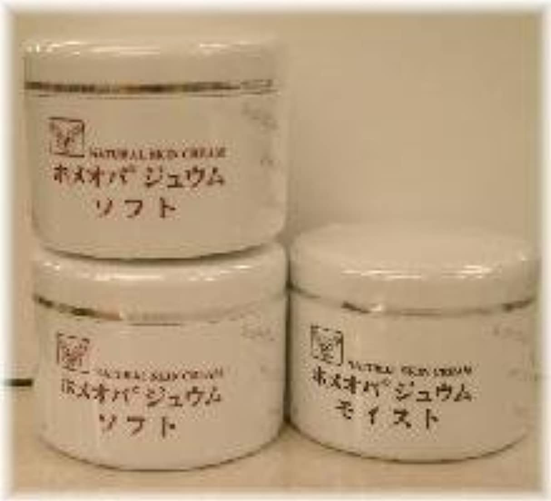 滑り台正確個人的にホメオパジュウム スキンケア商品3点 ¥10500クリームソフト2個+クリームモイスト