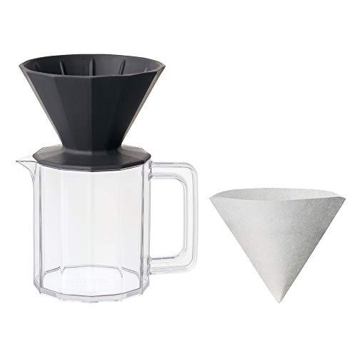 キントー ALFRESCO ブリューワー ジャグセット 4カップ用 ブラック 20733 TH メーカー