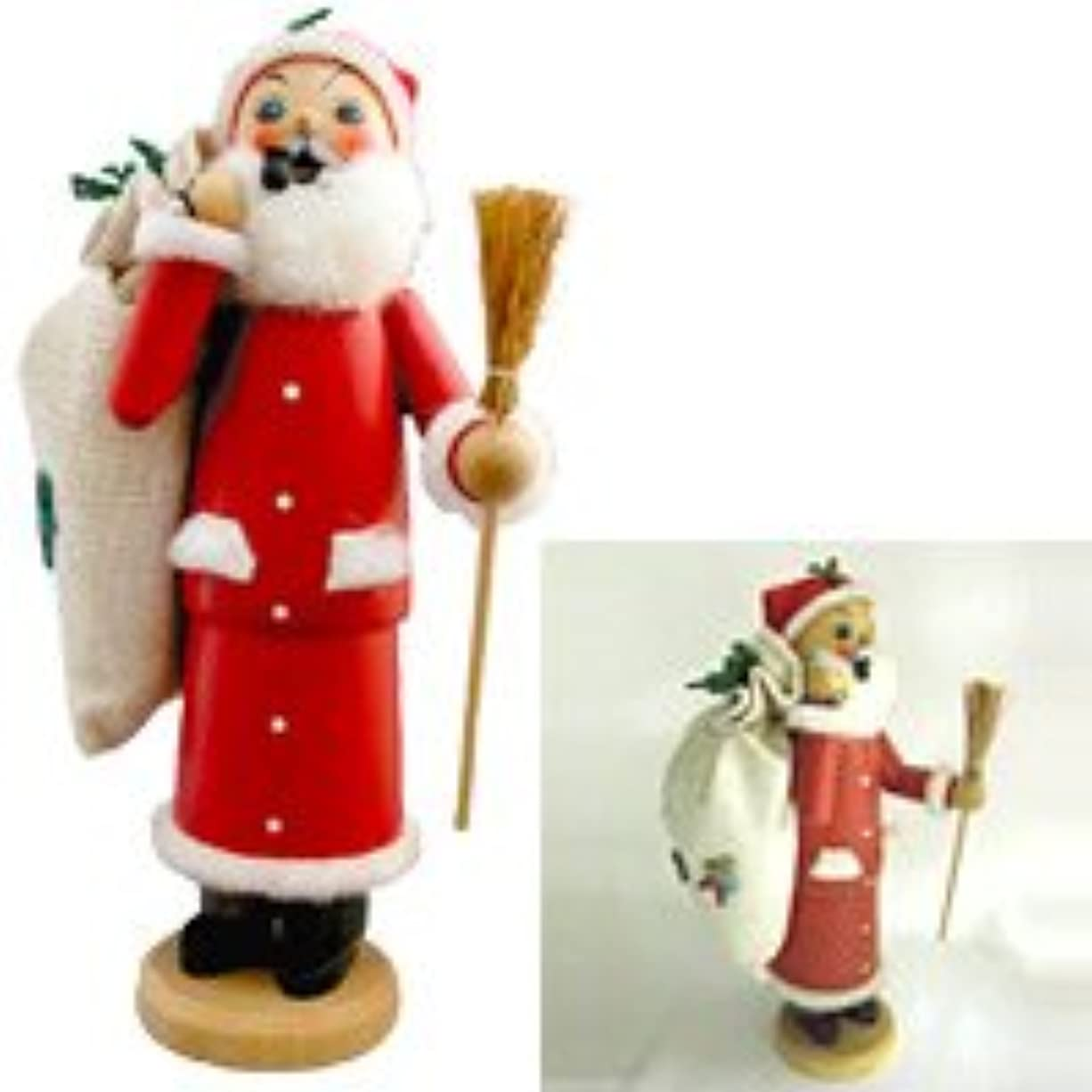 トンダイジェスト範囲クーネルト インセンススタンド(香皿) パイプ人形 サンタクロース