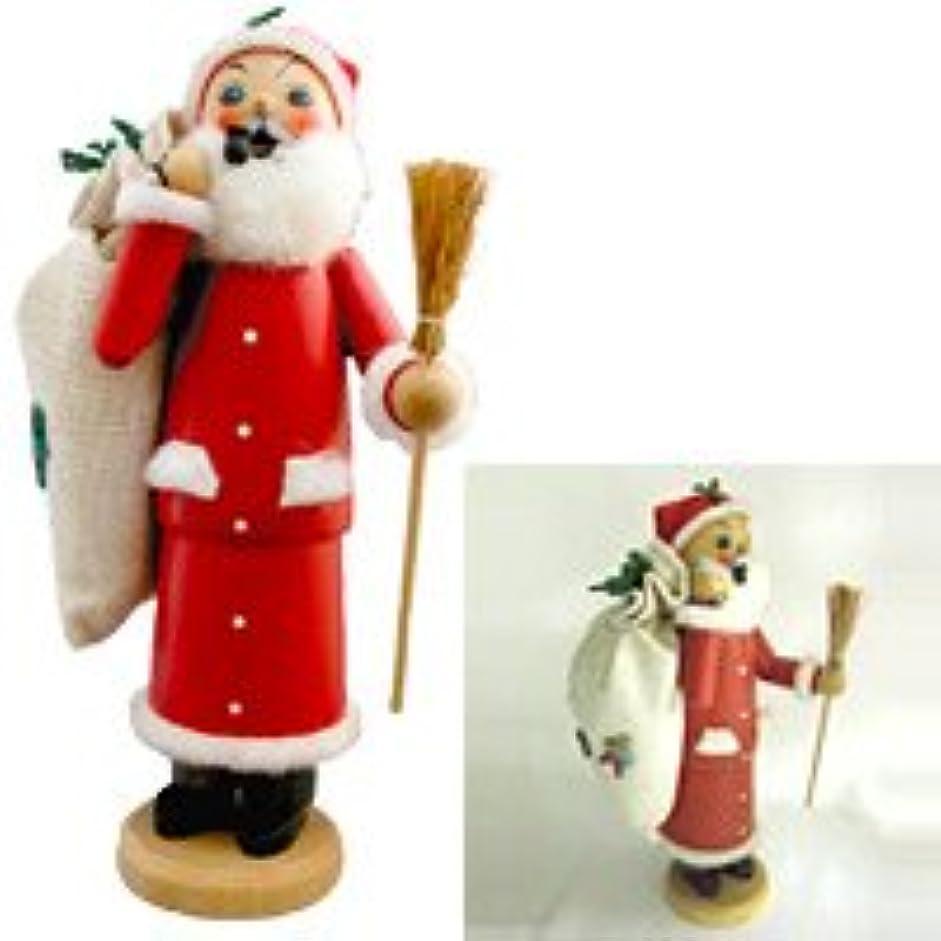 ブラウン繁雑個人クーネルト インセンススタンド(香皿) パイプ人形 サンタクロース