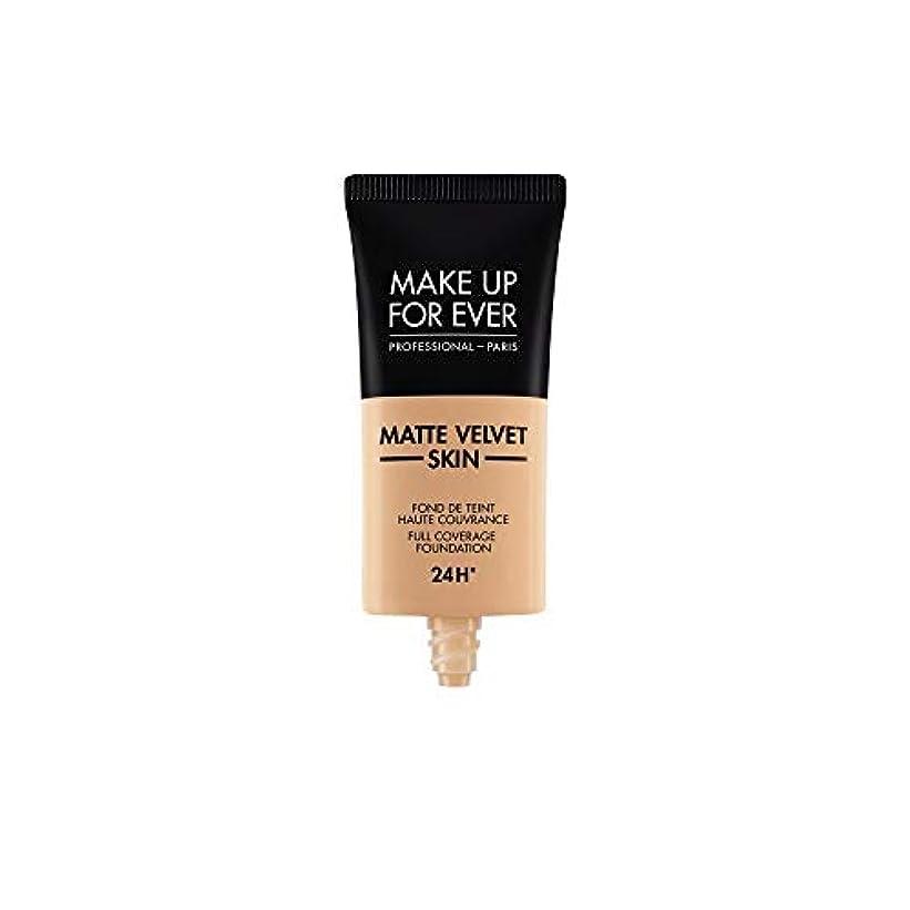 けがをする機関シュガーメイクアップフォーエバー Matte Velvet Skin Full Coverage Foundation - # Y325 (Flesh) 30ml/1oz並行輸入品