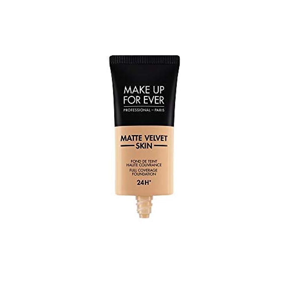 やがてペナルティイタリアのメイクアップフォーエバー Matte Velvet Skin Full Coverage Foundation - # Y325 (Flesh) 30ml/1oz並行輸入品