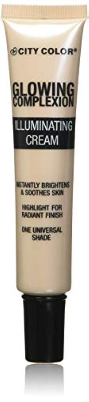 病的遠洋の辛なCITY COLOR Glowing Complexion Illuminating Cream - Net Wt. 1.015 fl. oz. / 30 mL (並行輸入品)