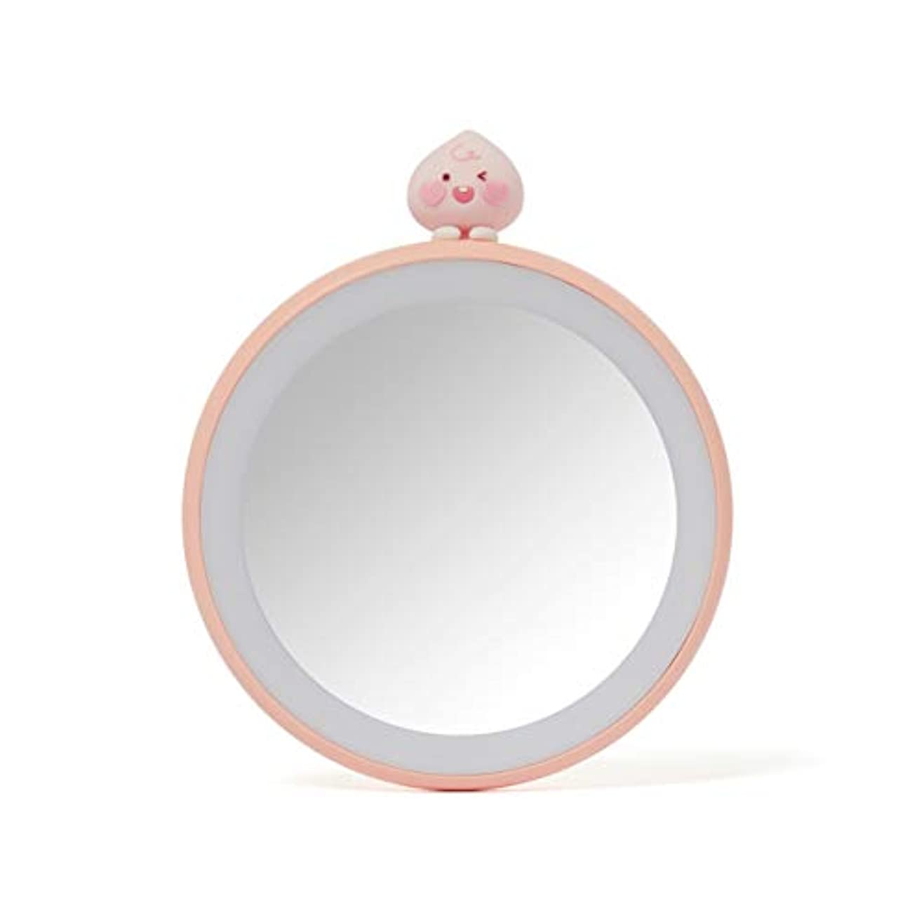羨望ミル稼ぐ[オフィシャル] カカオフレンズ - TWICE EDITION LEDライト付きハンドミラー KAKAO FRIENDS - TWICE EDITION Lighted Mirror (Apeach)