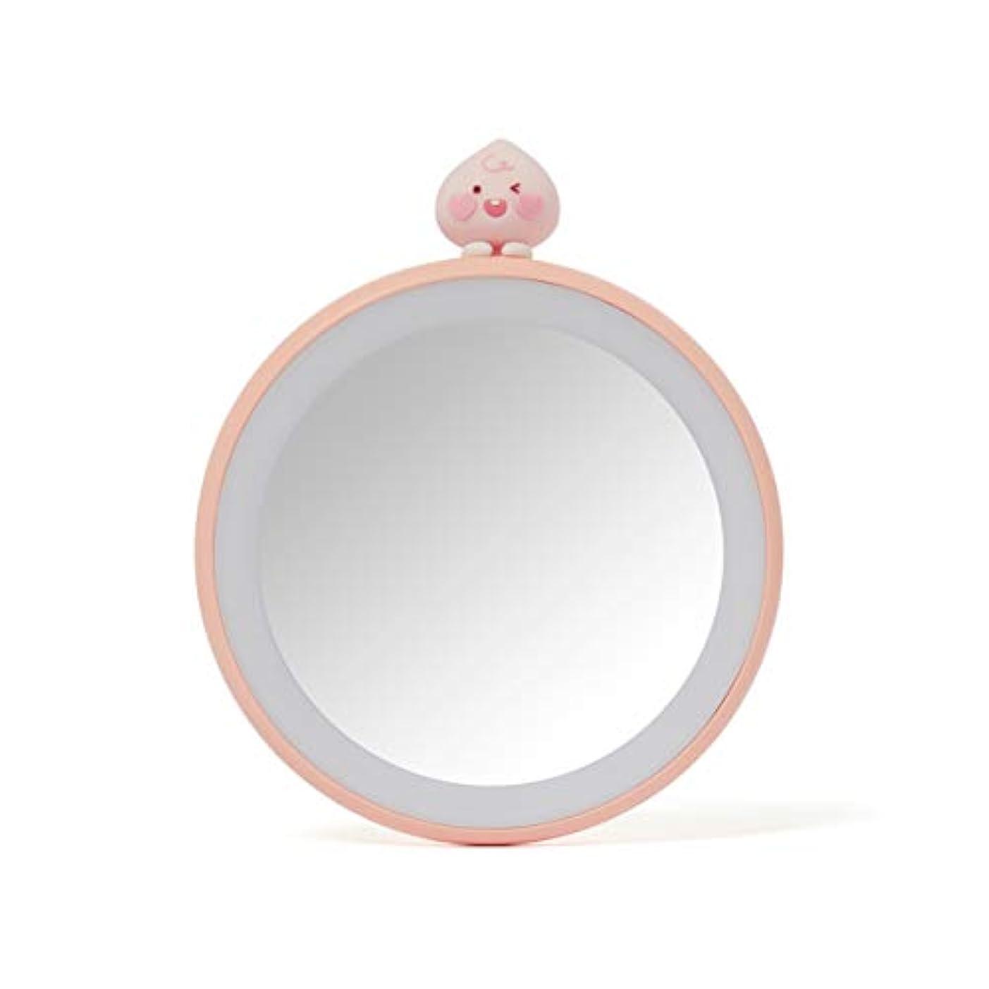 完璧スマイル散文[オフィシャル] カカオフレンズ - TWICE EDITION LEDライト付きハンドミラー KAKAO FRIENDS - TWICE EDITION Lighted Mirror (Apeach)