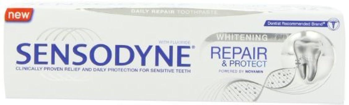 良さ兄弟愛入札Sensodyne Repair and Protect Whitening Toothpaste, 75ml by Sensodyne [並行輸入品]