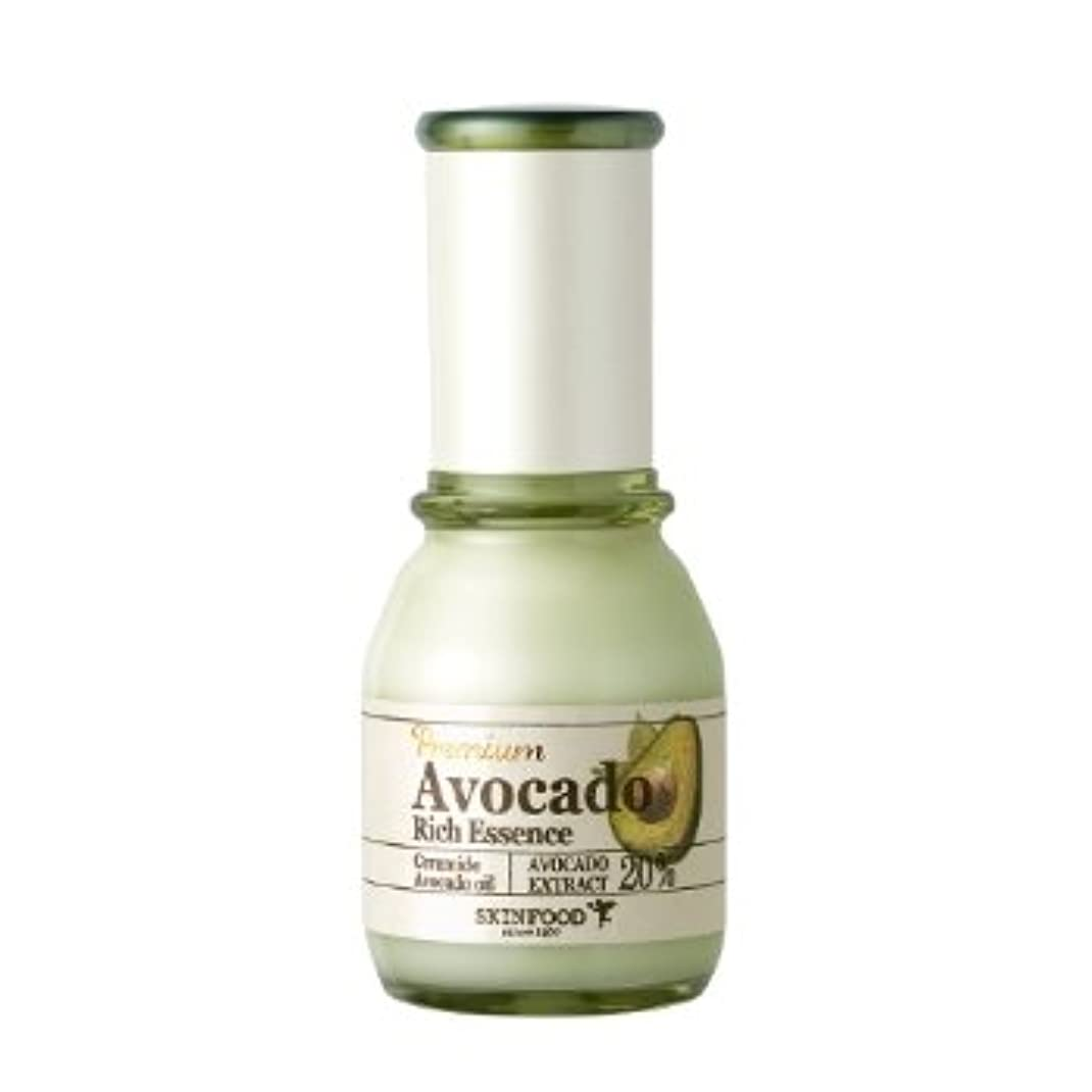 省略破壊的な追跡スキンフード [Skin Food] プレミアム アボカド リーチ エッセンス 50ml / Premium Avocado Rich Essence 海外直送品