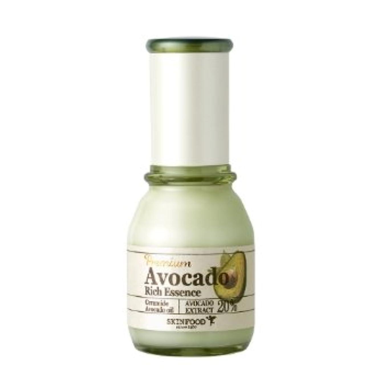 舗装篭フィドルスキンフード [Skin Food] プレミアム アボカド リーチ エッセンス 50ml / Premium Avocado Rich Essence 海外直送品