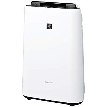 シャープ 加湿 空気清浄機 プラズマクラスター 7000 スタンダード 13畳 / 空気清浄 23畳 ホワイト KC-J50-W