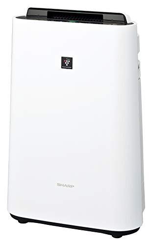 シャープ 加湿 空気清浄機 プラズマクラスター 7000 スタンダード 13畳   空気清浄 23畳 ホワイト KC-J50-W