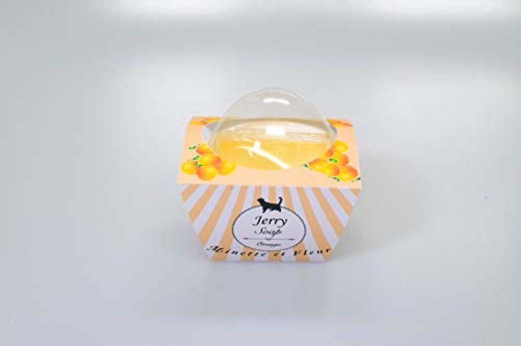 大きなスケールで見ると始める振る舞う【ミネット エ フルール】 オリジナルジェリーソープ オレンジ