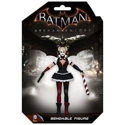 Batman Arkham Knight Harley Quinn 5 1/2-Inch Bendable Figure by NJ Croce