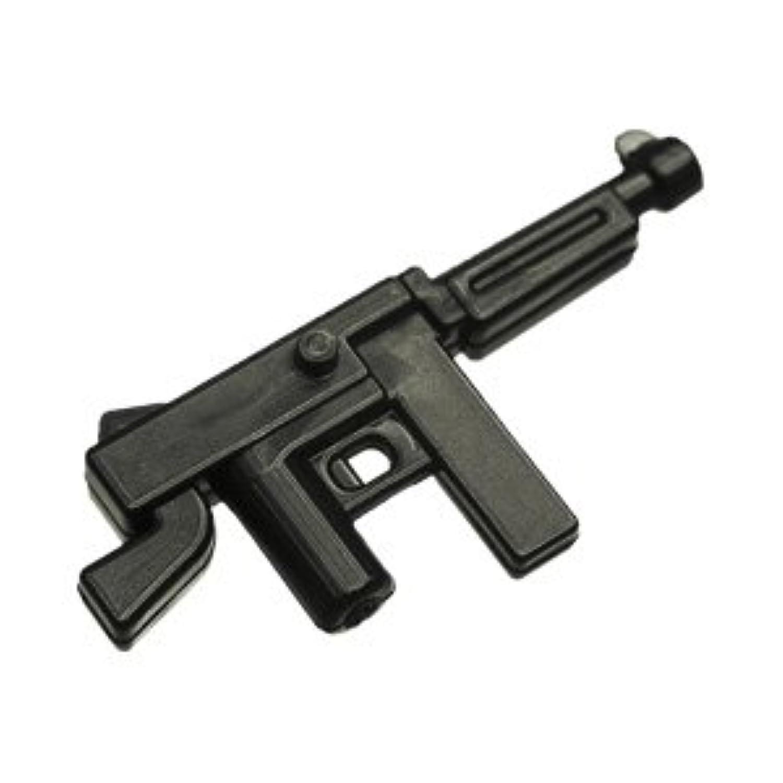 レゴブロック カスタム パーツ サブマシンガン M1A1 トンプソン:[Black / ブラック] 【並行輸入品】
