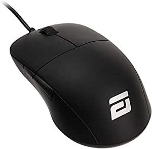ENDGAME GEAR ゲーミングマウス XM1 軽量 70g 50-16,000DPI 5ボタン オムロンスイッチ採用 クリック 応答速度 1ms 以下 ブラック PGW-EG-MOU-001