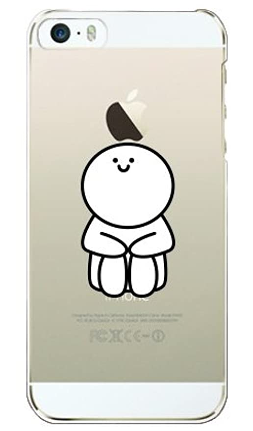 幅ガラガラゴージャスガールズネオ apple iPhone 5/5S/iPhone SE ケース (体育座り) Apple iPhoneSE-PC-OCA2-0631
