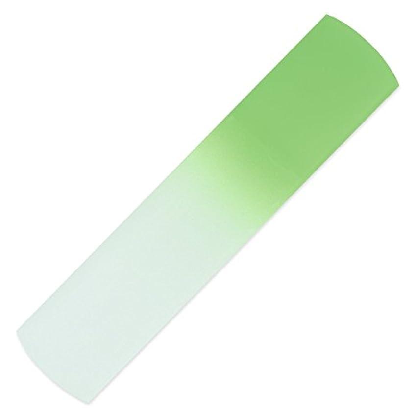 マスタードチキン励起ハンドメイドのガラス製フットファイル?ペディキュア用ヤスリ、本物のチェコ製強化ガラス使用、永久保証付き?固い皮や死んだ皮膚、きめの粗い皮膚、マメ、タコを除去