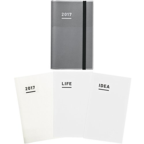コクヨ ジブン手帳 2017 ファーストキット 11月始まり A5スリム グレー ニ-JF1M-17