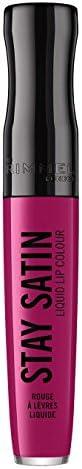 Rimmel London Stay Satin Liquid Lip Colour, 430 For Sure