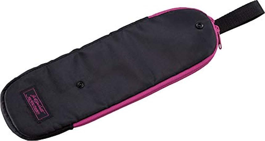 コジット ヘアアイロンポーチ ブラック 全長34.5 サッと収納 耐熱