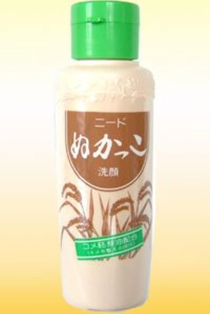 蒸発抽象化一月1985年発売以来のロングセラー商品【ニード ぬかっこ洗顔】(80g)