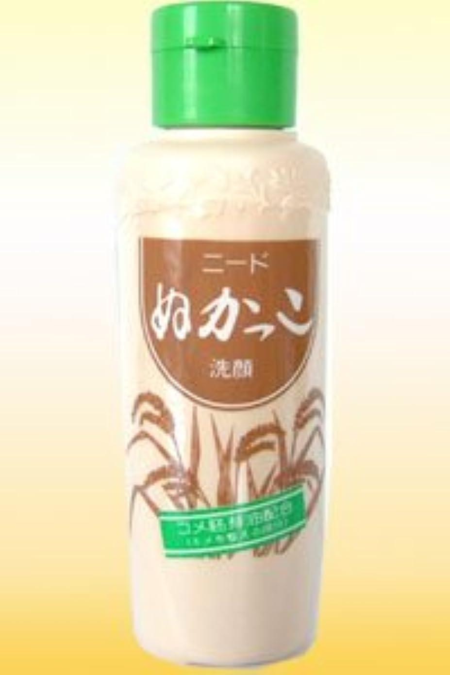 そよ風粘液異常1985年発売以来のロングセラー商品【ニード ぬかっこ洗顔】(80g)