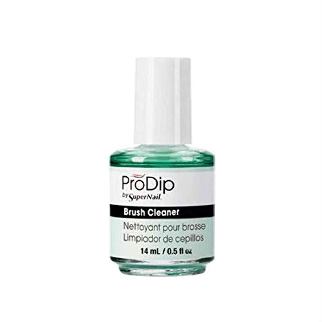 トレーダーフィードオン流出SuperNail ProDip - Brush Cleaner - 14 ml/0.5 oz