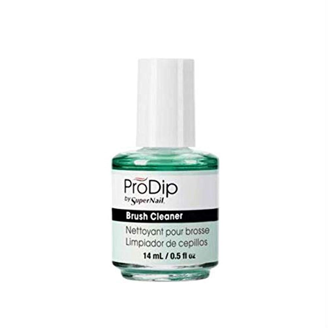 不十分コミュニケーションのヒープSuperNail ProDip - Brush Cleaner - 14 ml/0.5 oz