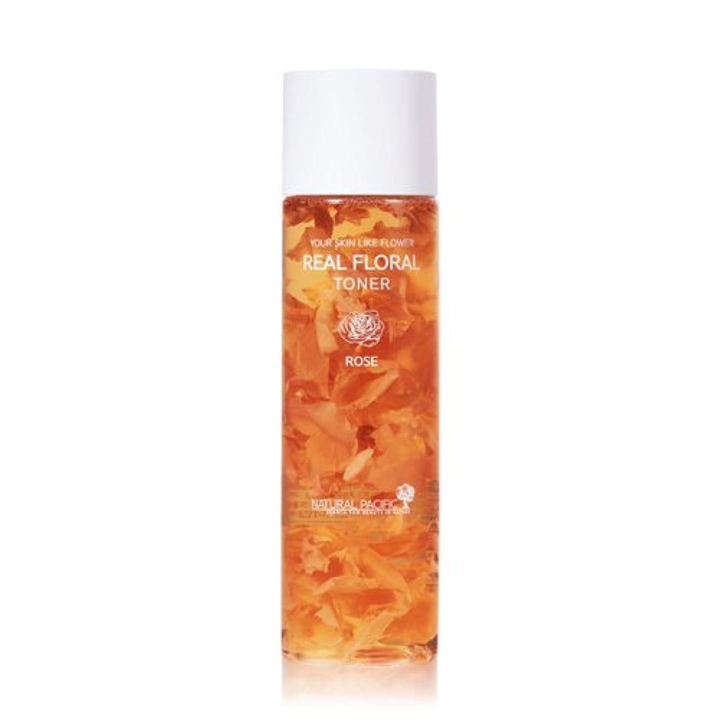 ピアスコットランド人半径NATURAL PACIFIC Real Rose Floral Toner 180ml/ナチュラルパシフィック リアル ローズ フローラル トナー 180ml [並行輸入品]