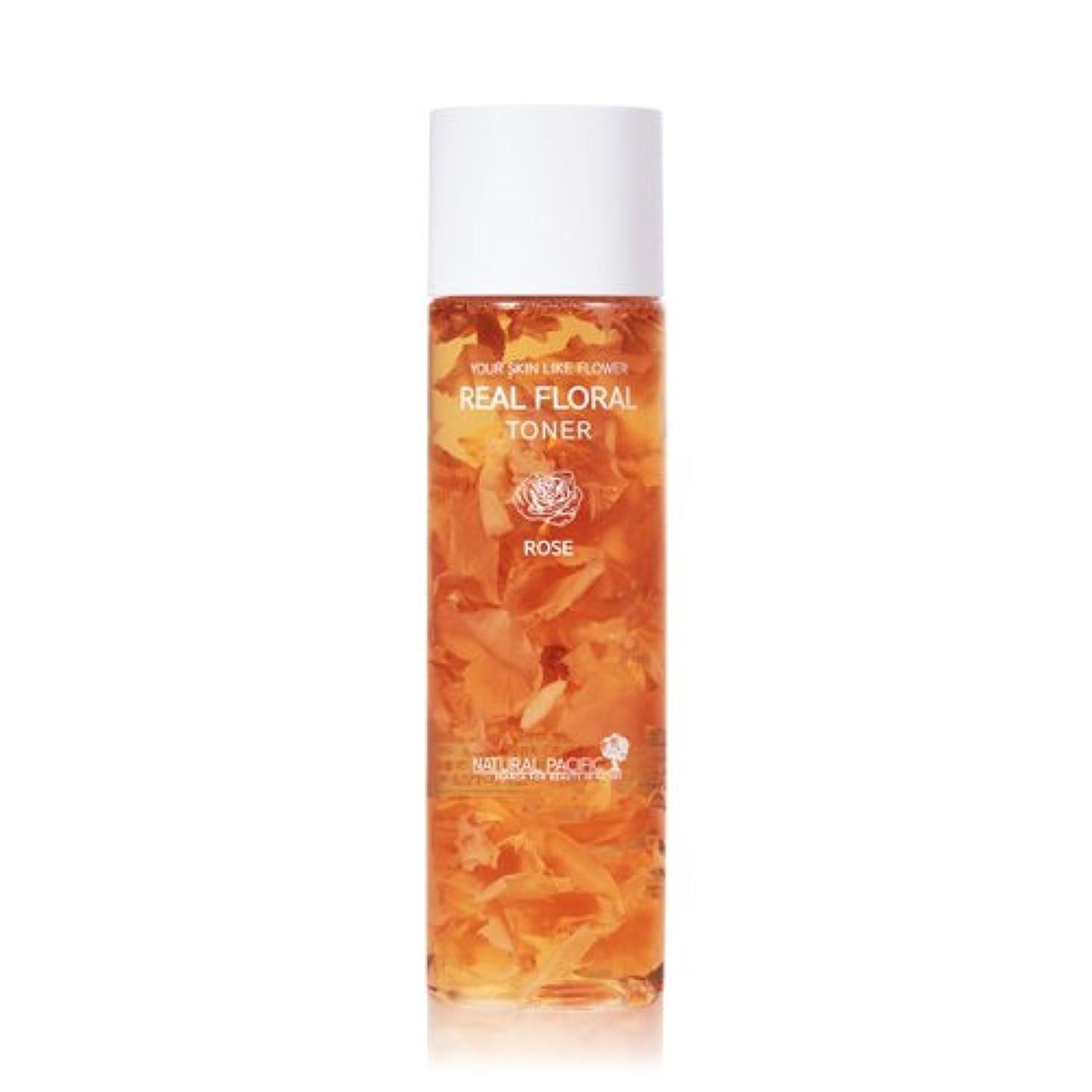 データベース同志フックNATURAL PACIFIC Real Rose Floral Toner 180ml/ナチュラルパシフィック リアル ローズ フローラル トナー 180ml [並行輸入品]