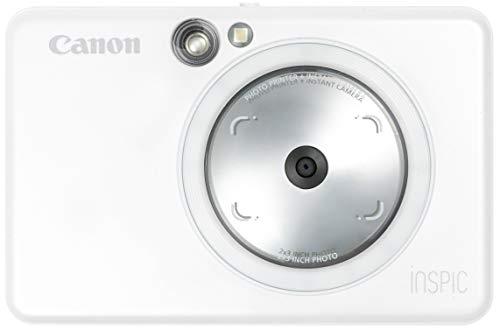 Canon インスタントカメラ スマホプリンター iNSPiC ZV-123-PW パールホワイト