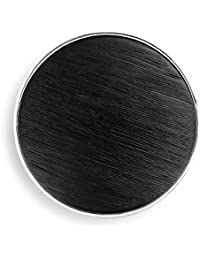 DEMDACO Black and Silver Circle One Size Women's Zinc Alloy and Resin Fashion Magnet