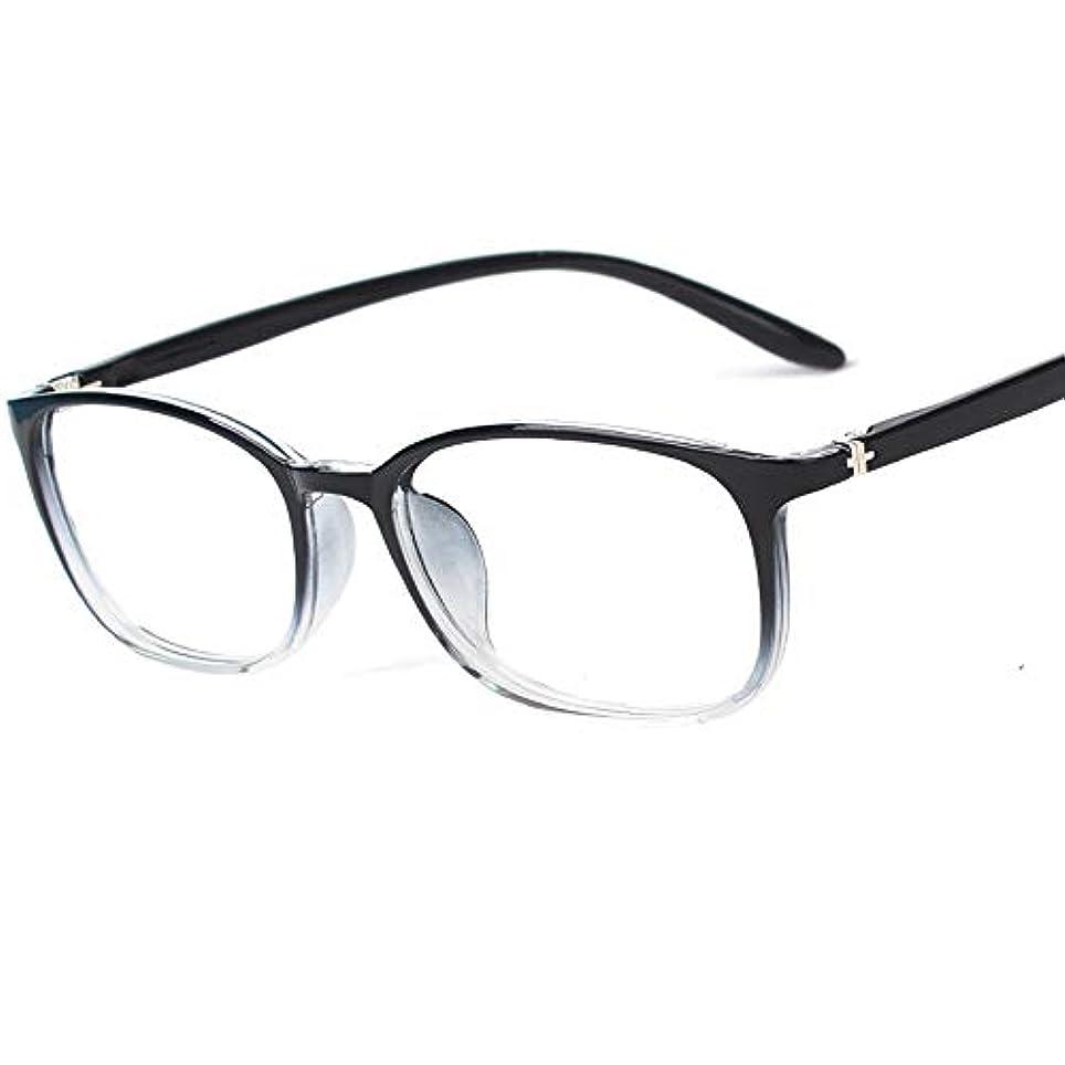 動作未就学投票老眼鏡、グラデーションレディース老眼鏡、超軽量の快適さ、高精細透明レンズ、抗疲労および抗Blu-Rayコンピュータメガネ、複数の視度オプション