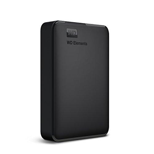 WD HDD ポータブルハードディスク 4TB WD Elements Portable WDBU6Y0040BBK-WESN USB3.0/2年保証