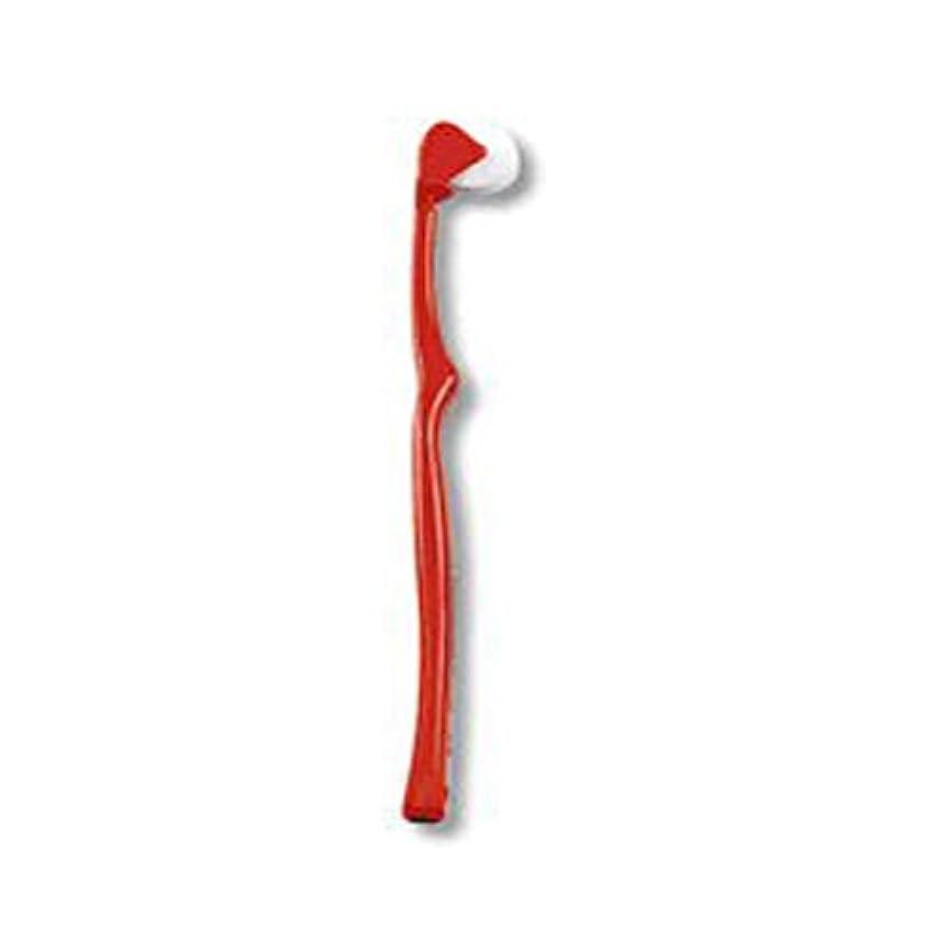 苦難摩擦裸コロコロブラシ コロコロ歯ブラシ レッド(赤)単色