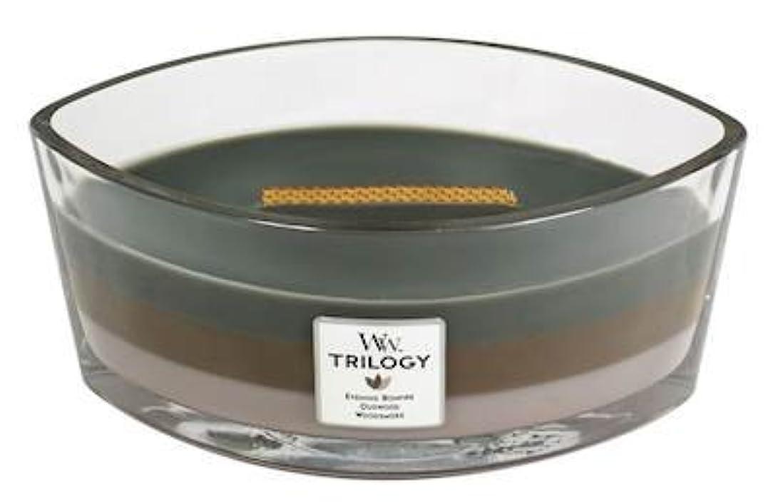 修士号概要ご予約CozyキャビンTrilogy – Hearthwick Flame Scented Candle by WoodWick – 3 in 1つ
