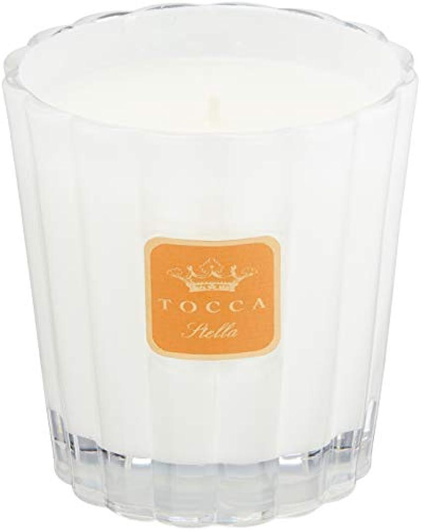 に応じて神経障害分泌するトッカ(TOCCA) キャンドル ステラの香り 約287g (ろうそく フレッシュでビターな香り)