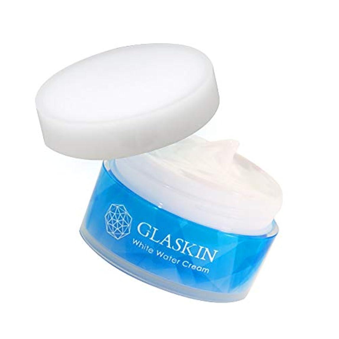 筋肉の概念中さくらの森 GLASKIN(グラスキン)オールインワン スキンケア ウォータークリーム処方 化粧品 60g