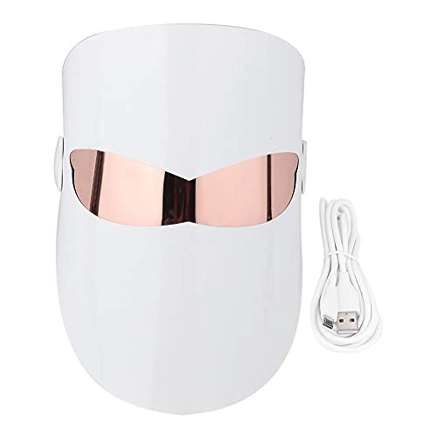 懐疑的民間ドキュメンタリーPhoton 32 LEDライトフェイスマスクホワイトニングリジュビネーションマッサージ栄養コラーゲン回復にきび除去スパ美容機器フェイス&ネックスキンケアマスク
